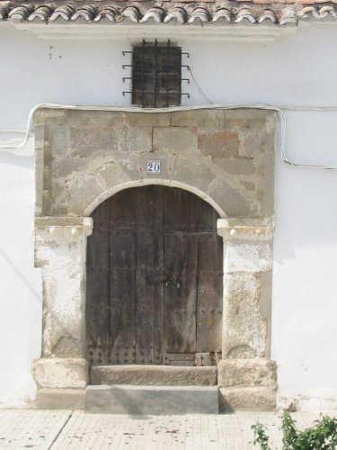 Portada antigua Casa Torrico