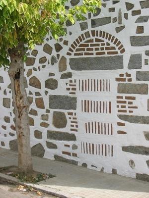 Fachada de granito