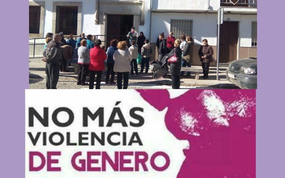 25 DE NOVIEMBRE. DÍA CONTRA LA VIOLENCIA DE GÉNERO 1