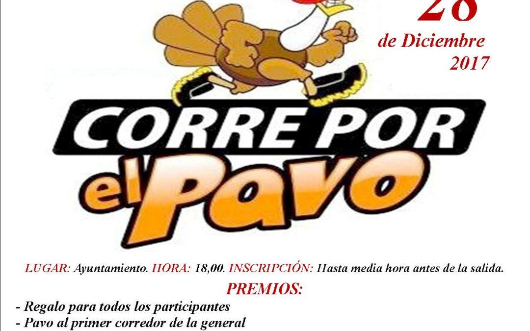 """SE ACERCA NUESTRA TRADICIONAL CARRERA """"CORRE POR EL PAVO"""" 1"""