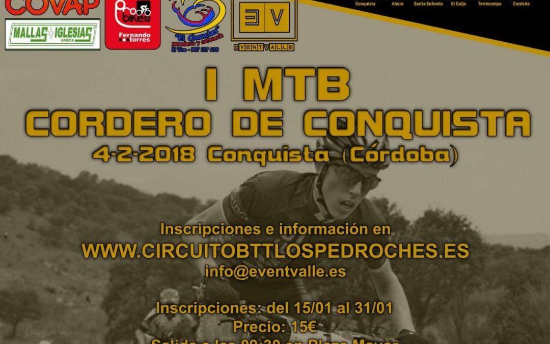 I MTB CORDERO DE CONQUISTA. 4 DE FEBRERO.
