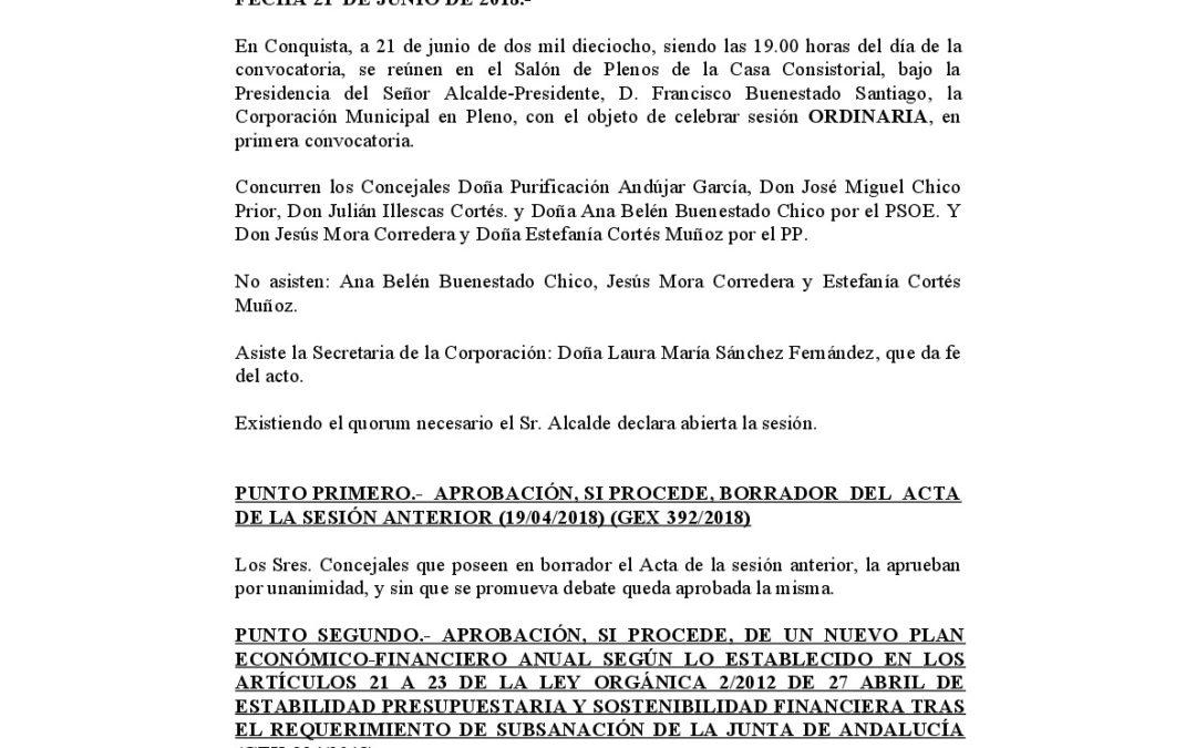 Acta Pleno 21-06-18