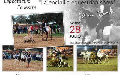 Espectáculo Ecuestre «LA Encinilla Equestrian Show» en Feria Santa Ana.