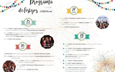 Programa de Festejos FERIA Y FIESTAS SANTA ANA 2018
