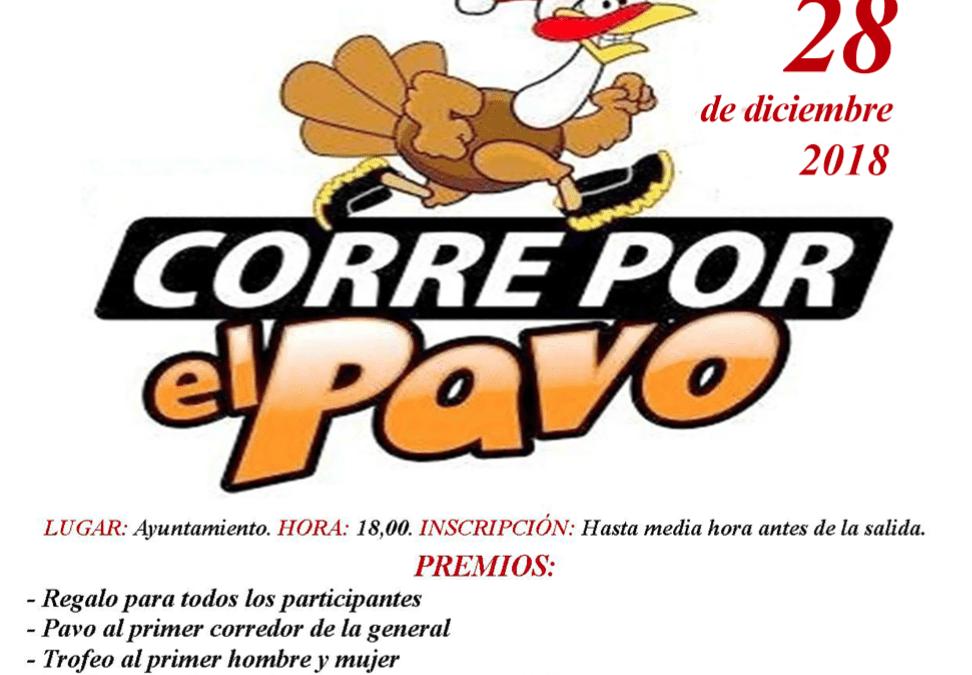Actividades Navideñas. Carrera CORRE POR EL PAVO. VIERNES 28-12 1