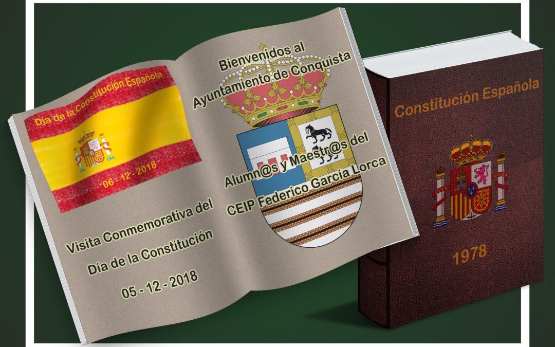 Visita al Ayuntamiento por Alumnos del Cole por DÍA DE LA CONSTITUCIÓN 1