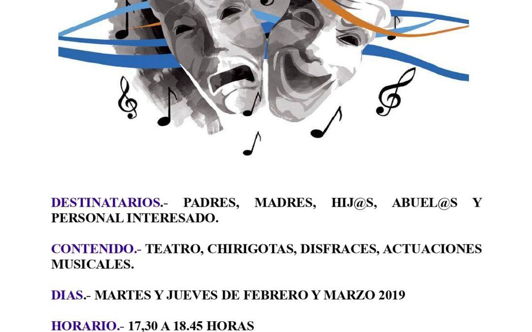 Taller Intergeneracional Música y Teatro.  1