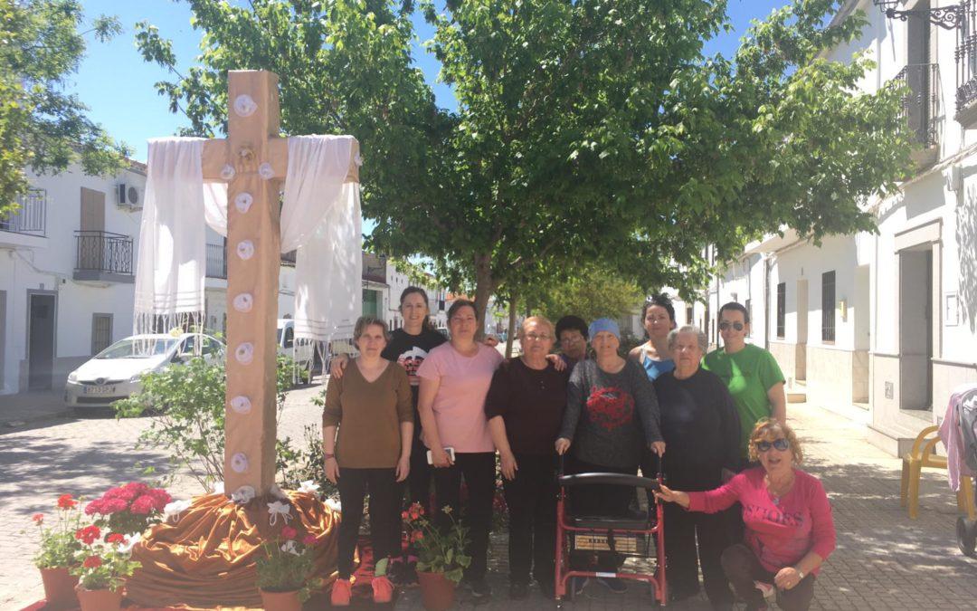 Fiesta de la Cruz en Conquista 2019 con la realizada por la Asociación de Mujeres LA ALEGRÍA DE LA SIERRA. 1