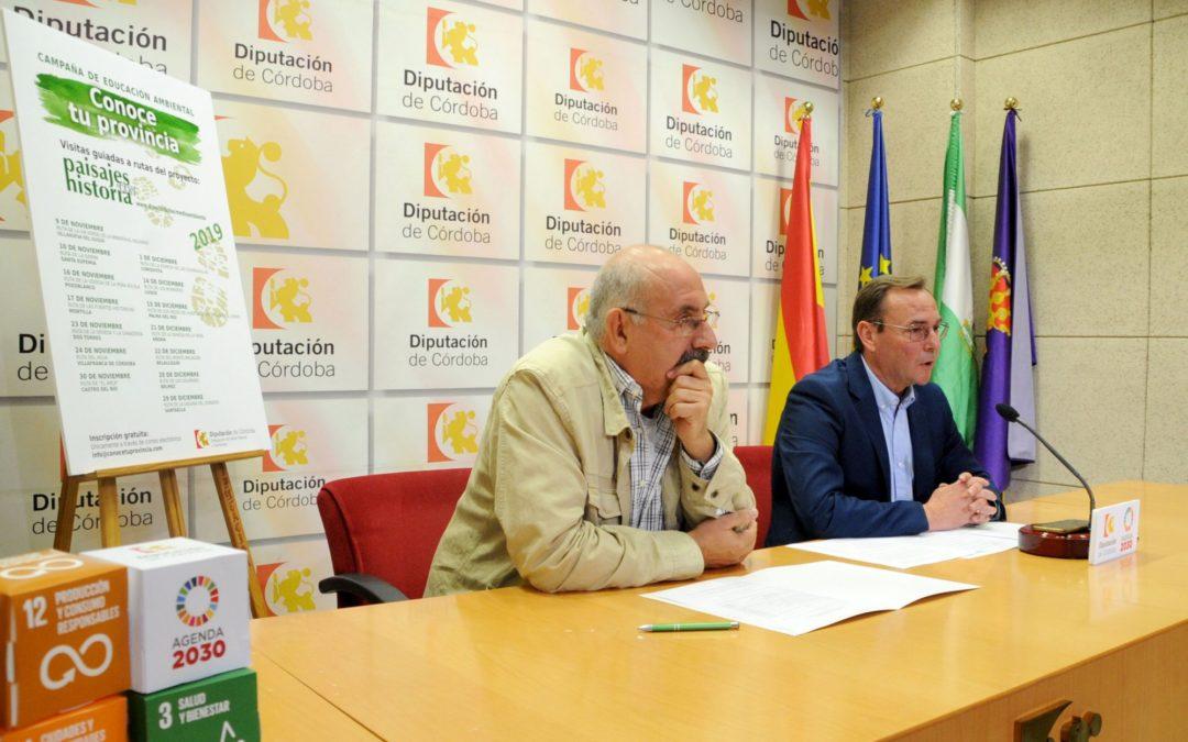 La Ruta DEHESA DE QUEBRADILLAS, incluida en el Programa de Rutas Guiadas de Diputación, Conoce Tu Provincia. 1