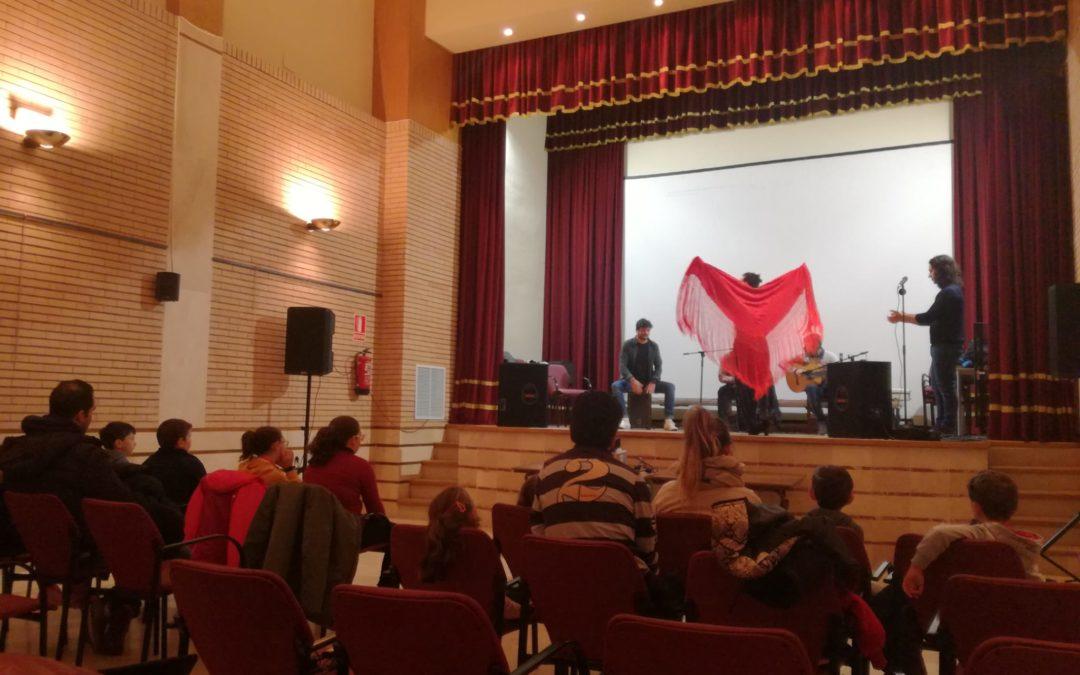 Maestros y Alumnos del CEIP Federico García Lorca de nuestra localidad, disfrutan del Programa FLAMENCO EN TU AULA.. 1