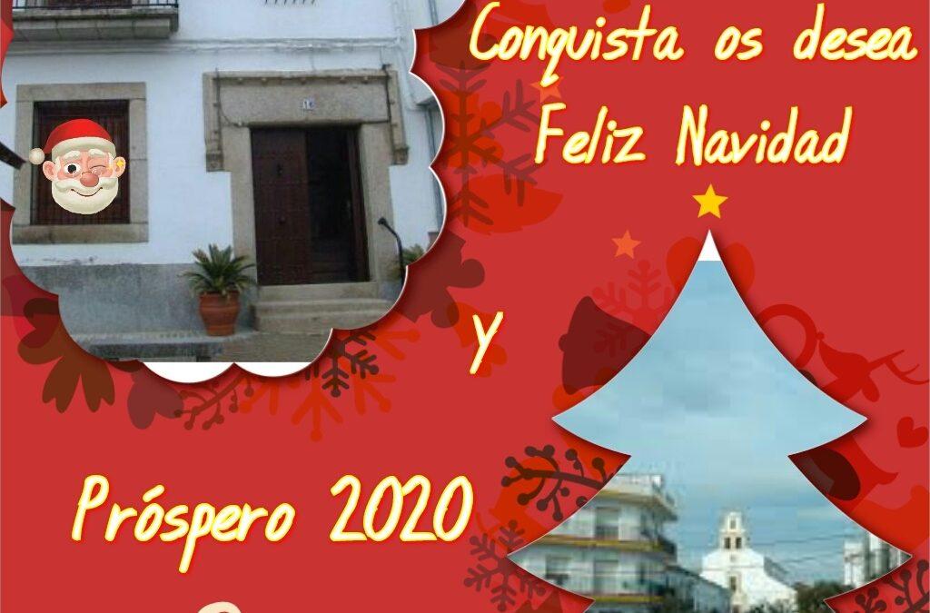 FELICES FIESTAS Y PRÓSPERO 2020. 1