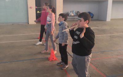 Imágenes Celebración Día de Andalucía Niños y Niñas con la Escuela Municipal de Deportes.