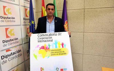 Concedida la Subvención de Cooperación Internacional 2020 de la Diputación de Córdoba.
