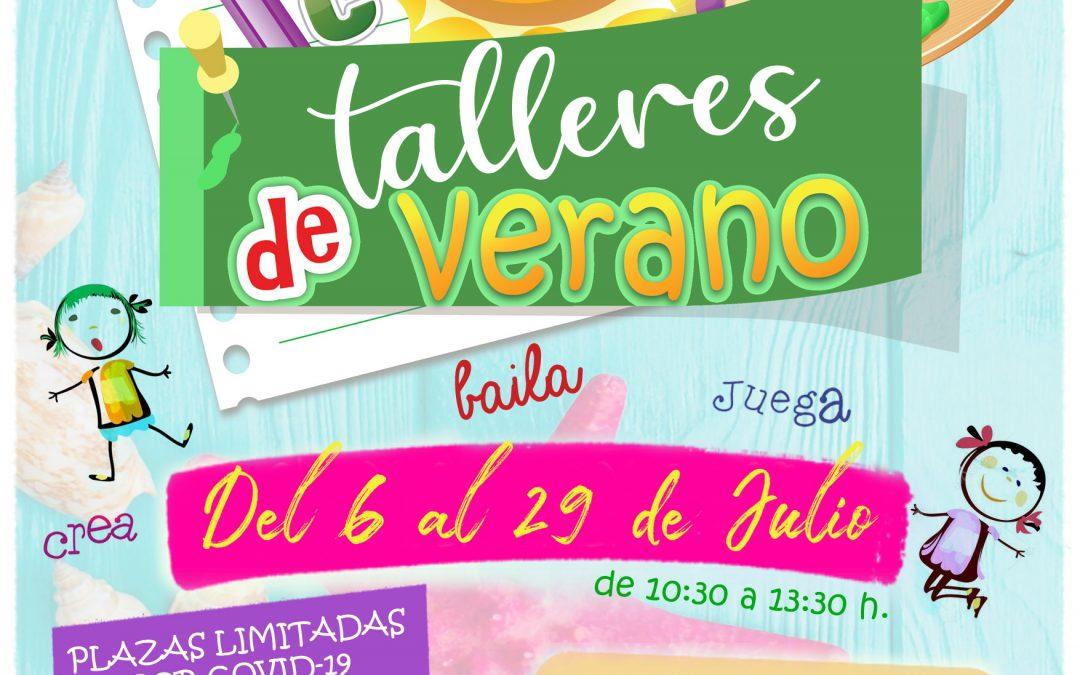 Talleres de Verano, Julio 2021.
