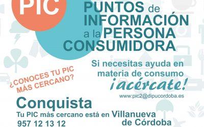 Nuevo Punto de Información al Consumidor más próximo al municipio.