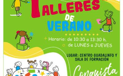 Talleres de Verano, Agosto 2021.