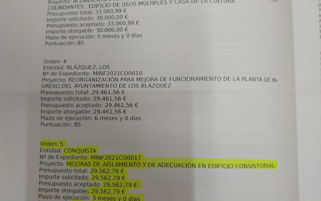 Página resolución definitiva Concesión SEDES DE GOBIERNO, 2021.